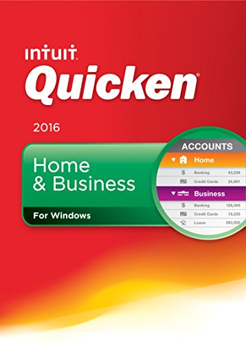Quicken Home & Business 2016 Personal Finance & Budgeting Software [Old Version]