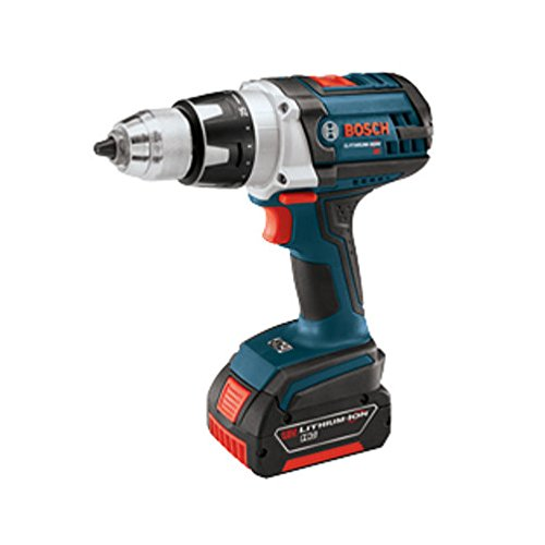 Bosch DDH181-01 18-Volt Lithium-Ion Brute Tough 1/2-Inch Heavy Duty Drill/Driver Kit with 2 Batteries, Charger and (Bosch Heavy Duty Drill)