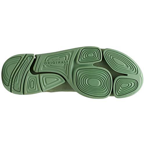 Trigenic Originals Clarks Donna Green Formatori Evo Suede Cactus Textile EPqpUqzw