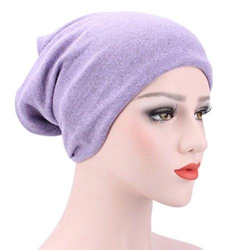 Egmy 2017 Kvinnor Muslim Stretch Turban Hat Chemo Lock Håravfall Huvud Hijib Cap K