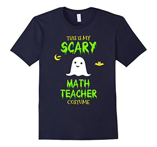 Mens Scary Math Teacher Costume Halloween T-Shirt 2XL (Math Halloween Costume Ideas)