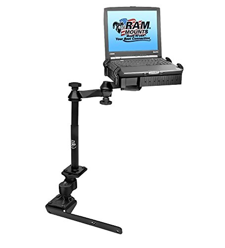 (RAM Mounts (RAM-VB-178A-SW1) No-Drill Laptop Mount with Adjust-A-Pole for The Dodge 1500-5500)