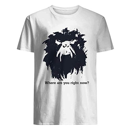 USA 80s TEE Where are You Right Now Shirt White