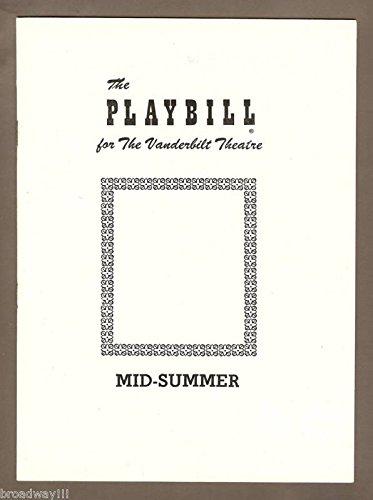 Geraldine Page'MID-SUMMER' Mark Stevens/Vicki Cummings 1953 Broadway Playbill