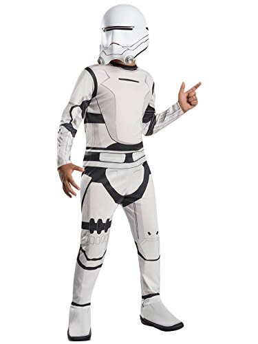 The First Order Stormtrooper Costume (Flametrooper Child Costume - Large)