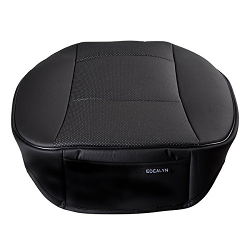 edealyn luxury car interior pu leather car seat cushion import it all. Black Bedroom Furniture Sets. Home Design Ideas