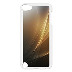 For SamSung Galaxy S6 Phone Case Cover Golden Wave Hard Shell Back White For SamSung Galaxy S6 Phone Case Cover 311436