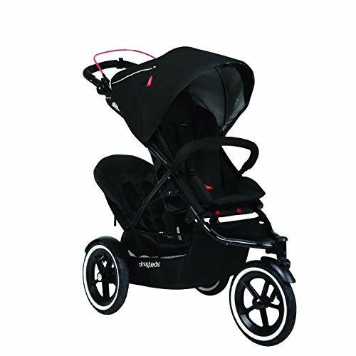 phil&teds Navigator V2 with **FREE** Double Kit (Black) (Phil And Teds Navigator Stroller With Doubles Kit)