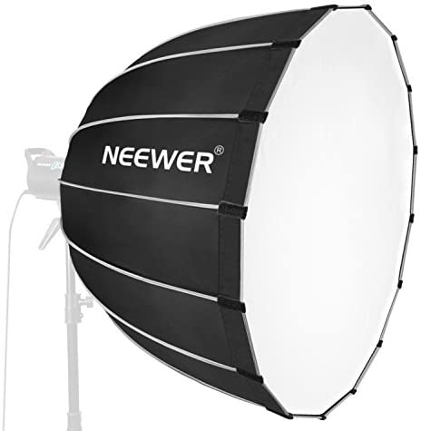 Neewer Hexadecagon Softbox 36 inches/90 Centimeters with Grey Rim and Bowens Mount