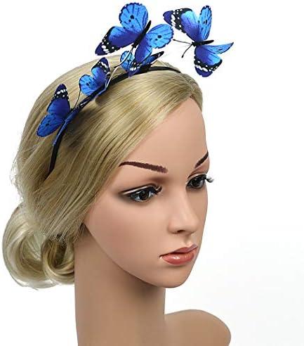ZOYLINK Bandeau papillon partie bandeau papillon bande de cheveux bandeau partie costume papillon costume dames femmes