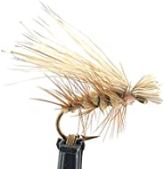 Feeder Creek Fly Fishing Dry Fly Assortment - 12pc Elk Hair Caddis Flies for Trout, Bass & More Freshwater