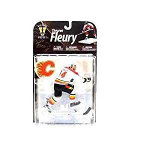 Mcfarlane Sportspicks: NHL Legends Series 8 Theoren Fleury (White Jersey Variant) Action Figure