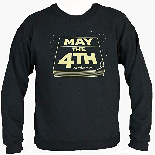 Sound Affections May The Fourth Be with You Sweater (Mens) Black Large