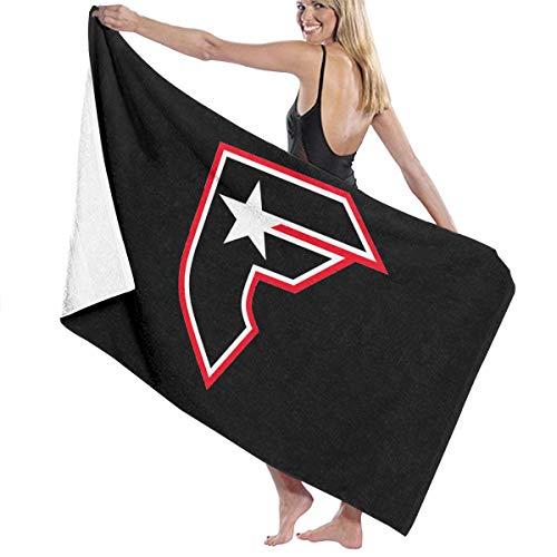 (Famous Stars and Straps Logo Beach Towels Ultra Absorbent Microfiber Bath Towel Picnic Mat for Men Women Kids White)