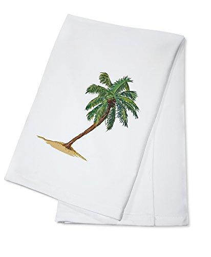 Palm Tree - Icon (100% Cotton Kitchen Towel)