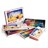 Inscribe Full Sized Pastels - Assorted Colours, Pack of 48
