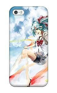 New Fashion Premium Tpu Case Cover For Iphone 5/5s - Hatsune Miku Sekiranun Graffiti