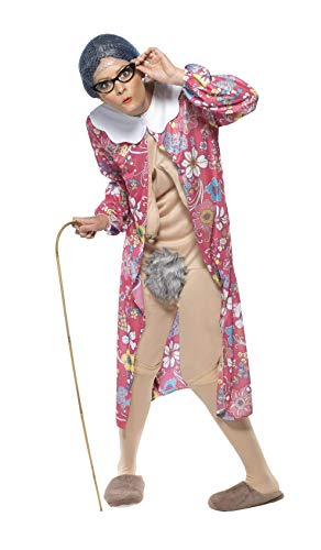 Gravity Granny Costume Unisex Adult Fancy Dress ()