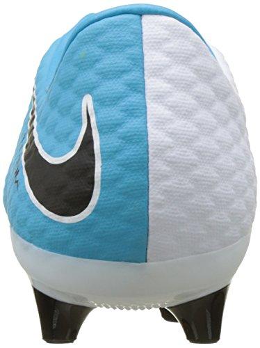 Nike Herren Hypervenom Phelon III AG-Pro Fußballschuhe Mehrfarbig (White/black-photo Blue-chlorine Blue)