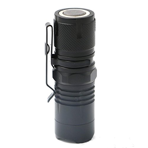 Gocheaper Flashlight, 4-Modes Adjustable Zoomable XM-L T6 LED, Max output 5000 Lumens Aluminum Alloy Torch Super Bright Light 16340 Battery ()