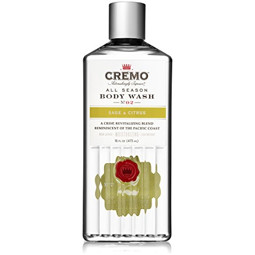 Cremo All Season Body Wash, Sage Citrus, 16 Ounce