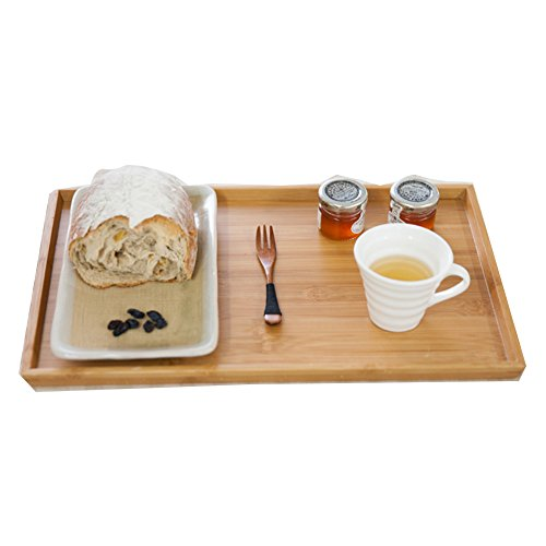 Housewares Rectangular Bamboo Serving /Bamboo Breakfast Tray (Collection Keyboard Tray)
