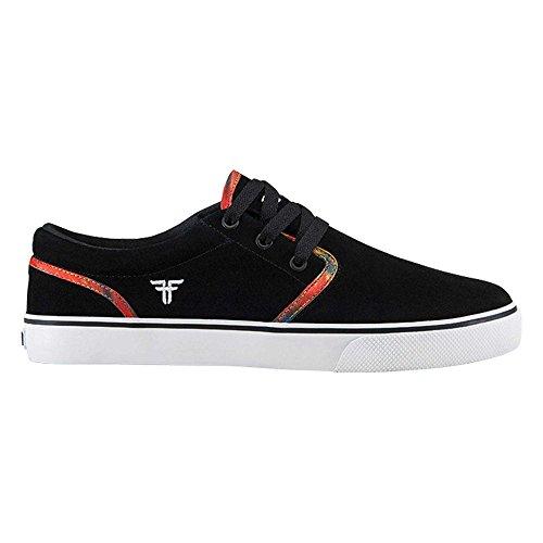 FallenThe Easy - Zapatillas de Skateboard Hombre, color negro, talla 9 US
