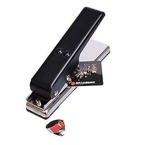 musicone diy guitar pick punch pick maker diy pick cutter tools black musical. Black Bedroom Furniture Sets. Home Design Ideas