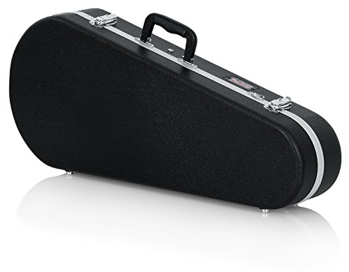 Gator Cases Deluxe ABS Molded Case for Mandolin's; Fits Both 'A' and 'F' Style Mandolin's (GC-MANDOLIN) from Gator
