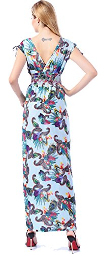 Plus Dress Size Floral Women's Maxi 2274 Long Marysgift 4nHzqxC