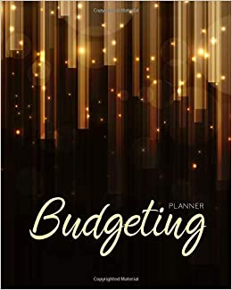 amazon com budgeting planner royal gold 12 month financial