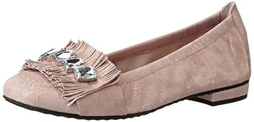 Kennel And Schmenger Shoe Manufactory Ladies Malu Chiuso Ballerine Beige (rosa / Cristallo)