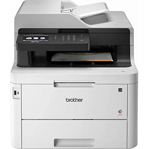 Brother Mfc-L3770CDW Color All-in-One Laser Printer with Wireless, Duplex Printing and Scanning (Cheap Laser Color Printer All In One)