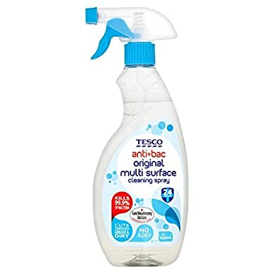 fa3bc5842eb0 Tesco Antibacterial Cleaner Spray 500Ml: Amazon.co.uk: Grocery
