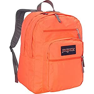 JanSport Big Student Classics Series Backpack - TAHITIAN ORANGE