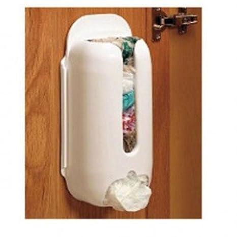 ZHUOTOP Soporte de pared bolsa de plástico bolsa de ...