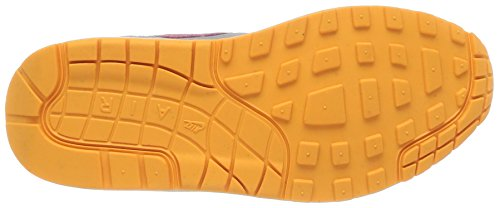 Nike - Zapatillas de deporte WMNS AIR MAX 1 ESSENTIAL WHITE/PINK GLOW-WOLF GREY-ATOMIC ORANGE