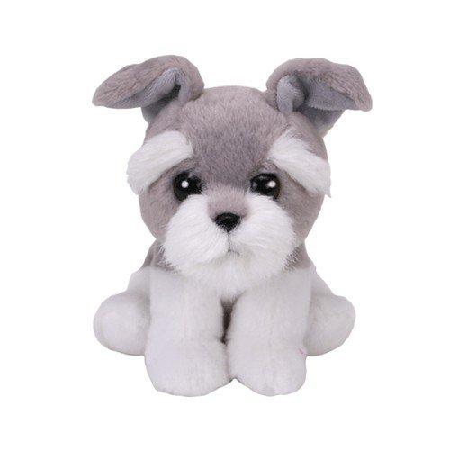 Ty Beanie Babies HARPER   Grey Dog Reg 6 #34; Regular