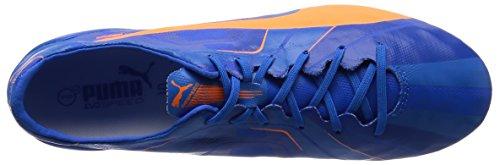 Puma Evo Speed SL H2H Tricks FG Blau Orange F01 Größe 40