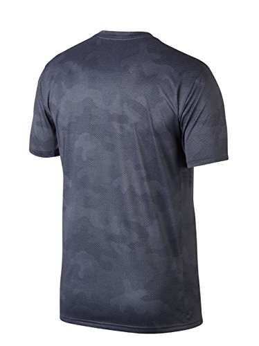 Nike Dry leggend Camo AOP de manga corta para hombre Light Carbon/Thunder Blue