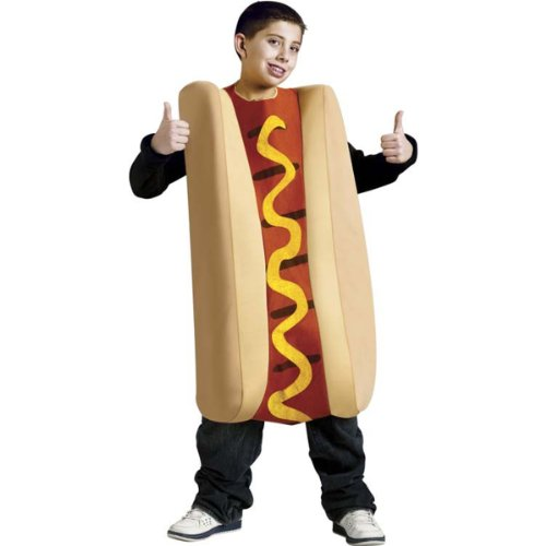 Child Hot Dog Funny Costumes (Hot Dog Kids Costume)