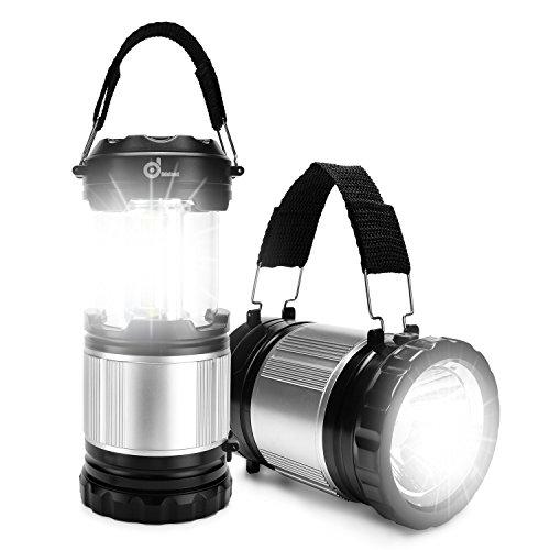 LED Lantern, ODOLAND 2-In-1 300 Lumen LED Campi...