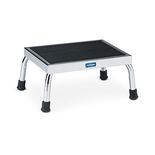 Pedigo Products Inc Stainless Steel Footstool, 300LB WT CAP (12X30X8)