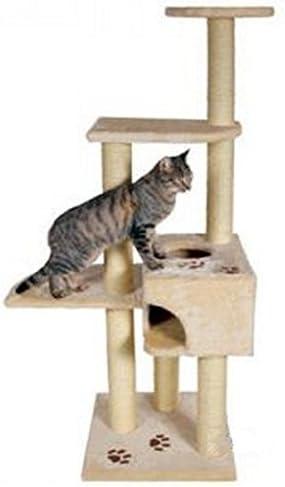 Muebles de multinivel Cat Árbol, con postes de sisal arañar ...