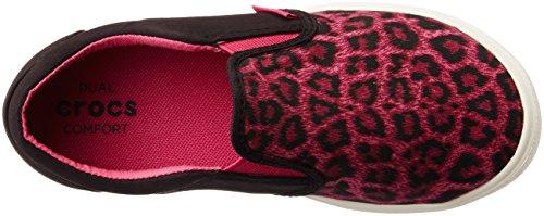 Crocs Citlnnovslpsnkk, Zapatillas Unisex Niños Multicolore (Leopard)