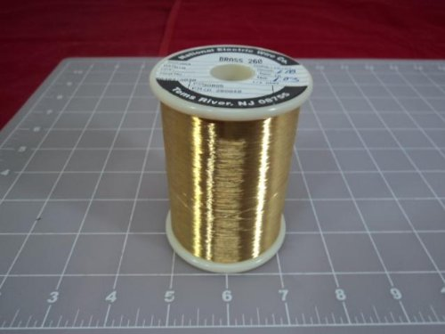 LOT OF 30 NATIONAL ELECTRIC WIRE CD280848 BRASS 260 WIRE T10865 by NATIONAL ELECTRIC WIRE