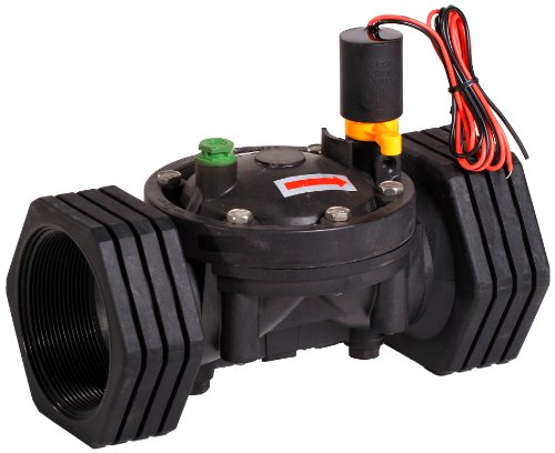 Galcon 3652 1.5-Inch Sprinkler Valve with S1602 DC Latching Solenoid for Battery Operated - Irrigation Valve Nelson