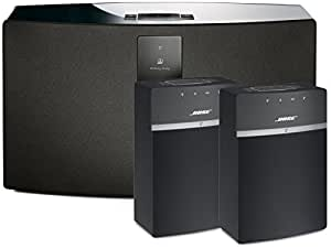 bose soundtouch 30 and 10 wireless music system bundle 3 pack black 1 30 and 2. Black Bedroom Furniture Sets. Home Design Ideas