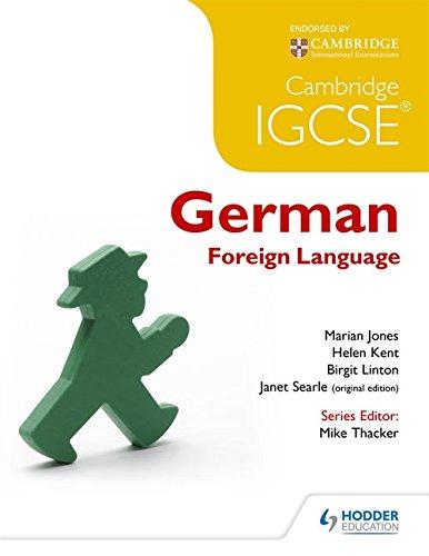 Cambridge IGCSE® German Foreign Language by imusti