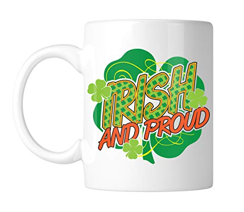 - Amdesco Irish And PROUD 11 Oz White Coffee Mug (1 Mug)